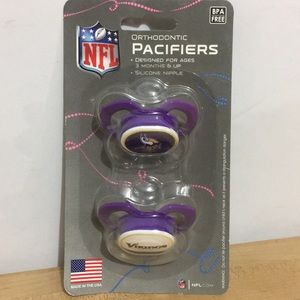 Minnesota Vikings Orthodontic Pacifiers